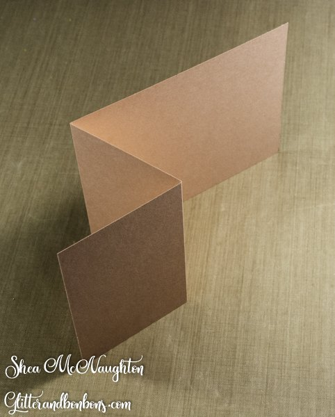 Two folds for a Z fold card