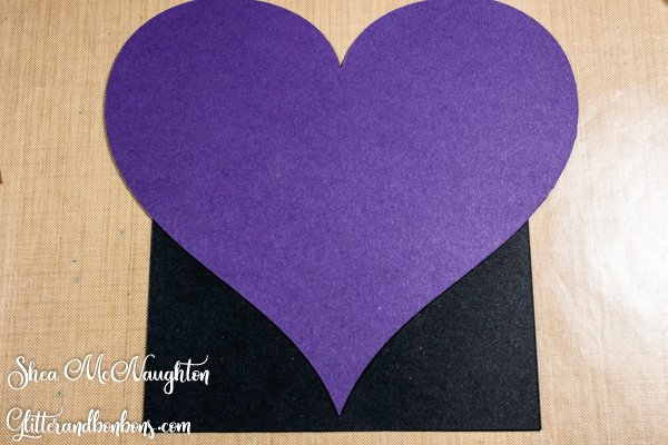 First heart down, 6 to go on this heart card